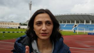 Видеоприветствие Марии Ласицкене - чемпионки мира в прыжках в высоту