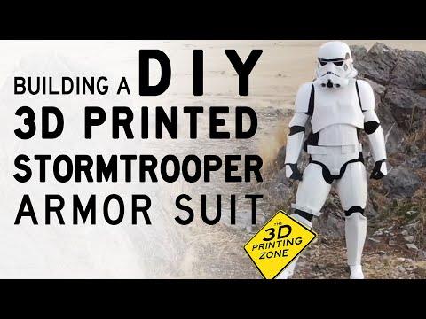Big Rig - Utah Man Makes Body Armor Storm Trooper With 3D Printer