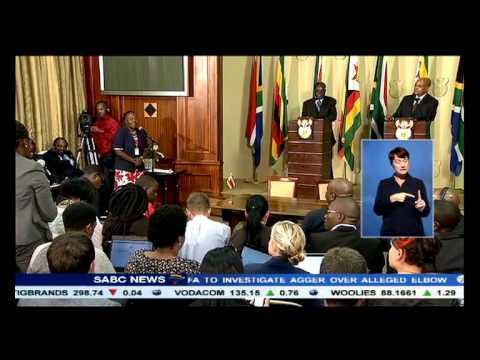 President Mugabe's Cecil John Rhodes joke