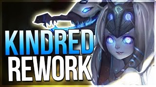 NEW KINDRED REWORK! Infinitely Scaling Autos + Ability Range?! - League of Legends