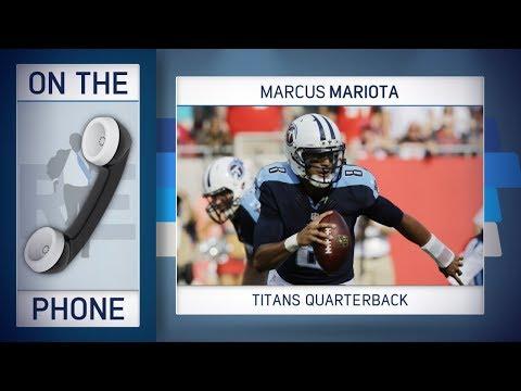 Titans QB Marcus Mariota Dials In to The Rich Eisen Show | Full Interview | 11/22/17