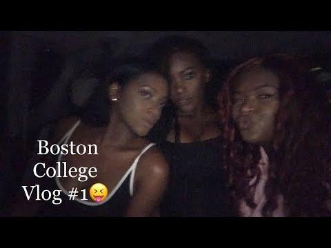 BOSTON COLLEGE VLOG #1 | First week of Freshman Year!