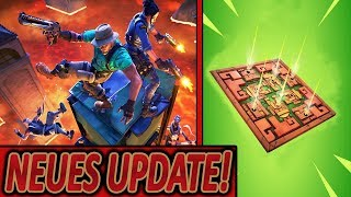 JETZT NEUE GIFTFALLE💀 & THE FLOOR IS LAVA MODUS!🌋🔥 | NEUES UPDATE | Fortnite Battle Royale