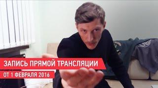 Онлайн-видеочат с Павлом Волей (1 февраля 2016)