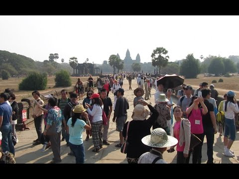 Trip to Siem Reap Angkor in Cambodia