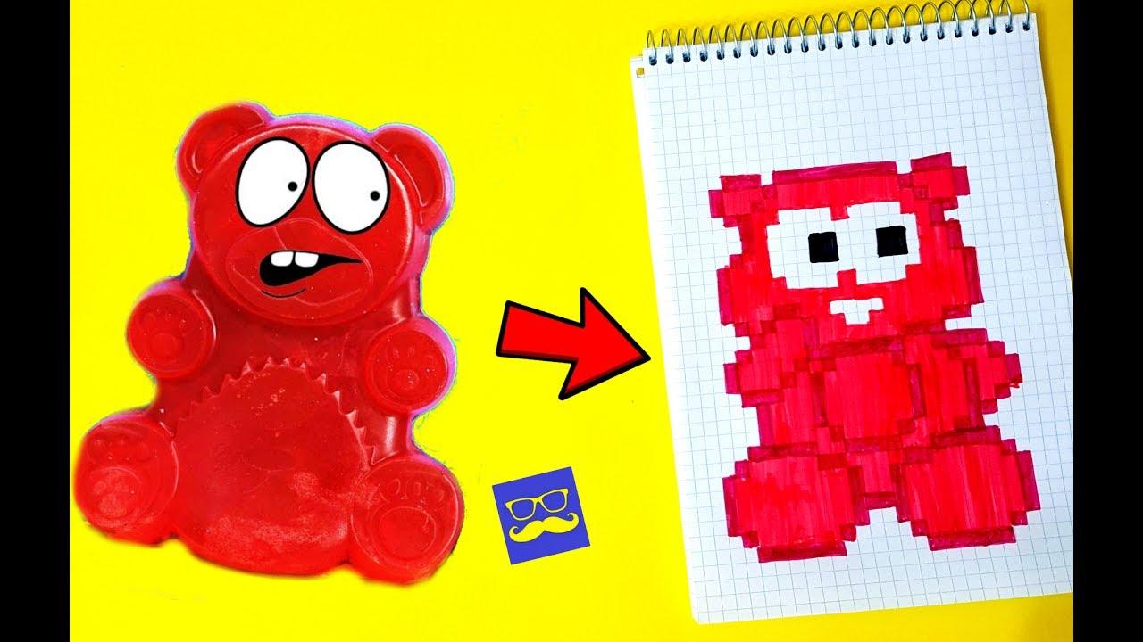 желейный медведь валера картинки раскраски