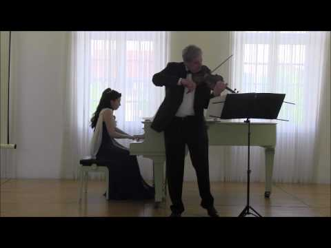 Daniel Spektor (Violine) Tatjana Worm-Sawosskaja (Klavier) - J. Brahms - Ungarischer Tanz Nr. 2