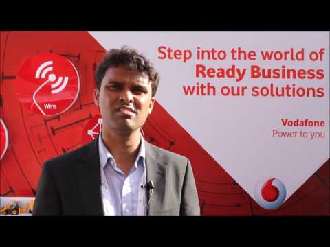 Vodafone Business Services Exhibits at India m2m iot Forum 2017