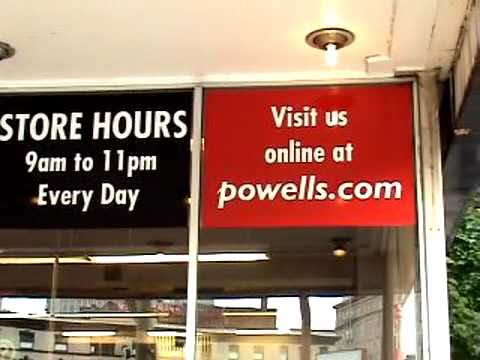 A Whirlwind Tour of Powell's Book Store - Portland, OR