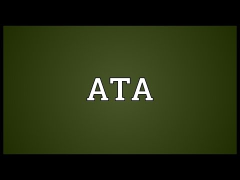 ATA Meaning