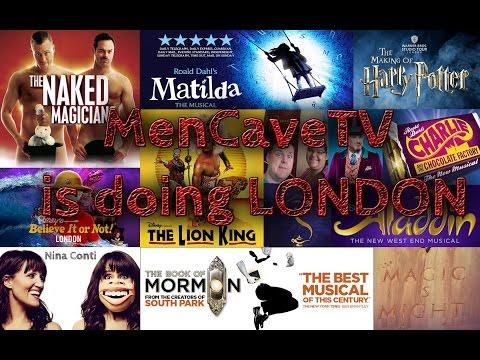 MenCaveTV doing London (lots of shows)