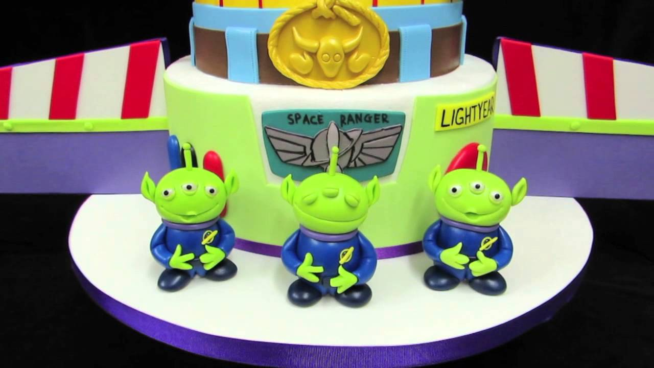 Toy Story Birthday Cake Youtube