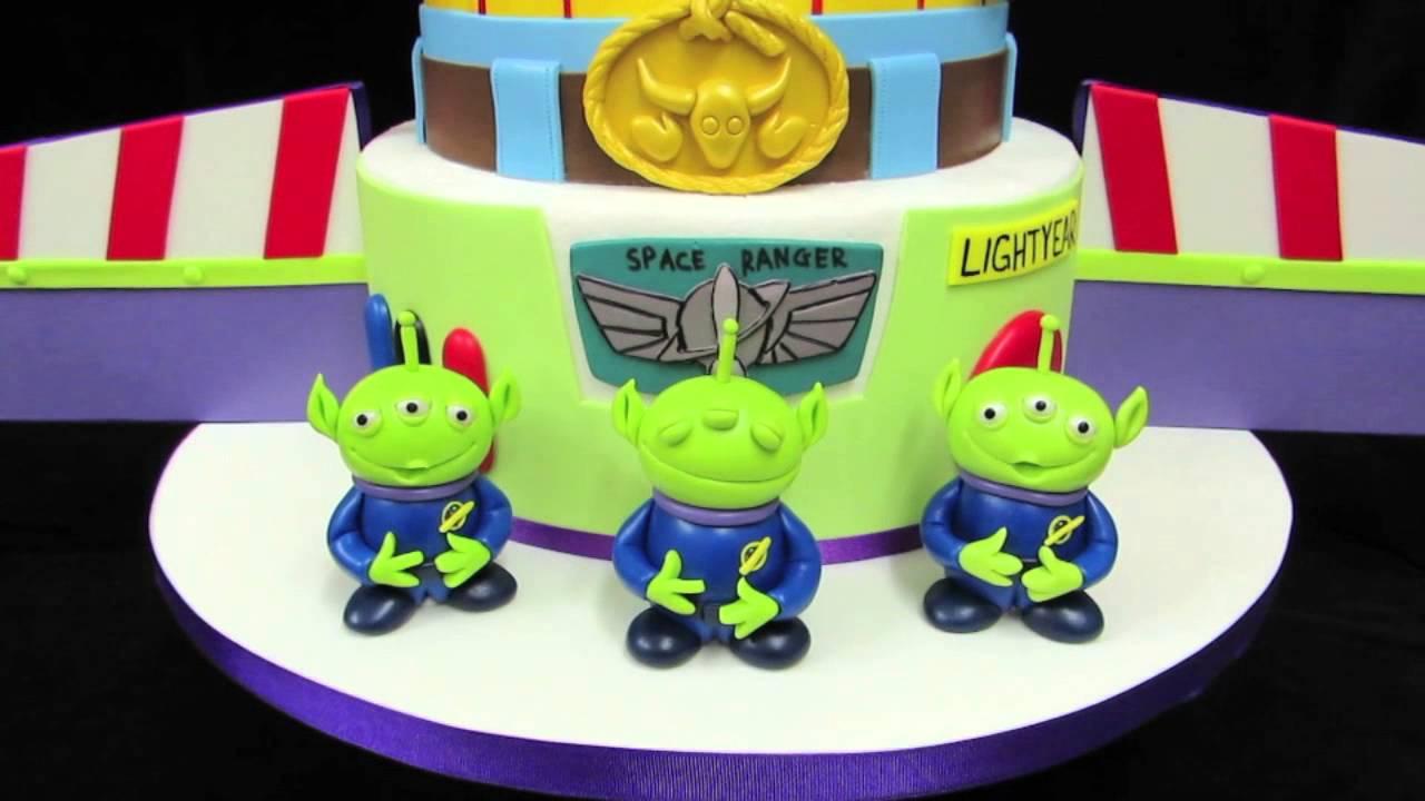 Toy Story Birthday Cake Youtube