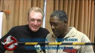 Ernie Hudson and William Atherton's PSA for GhostbustersNews.com