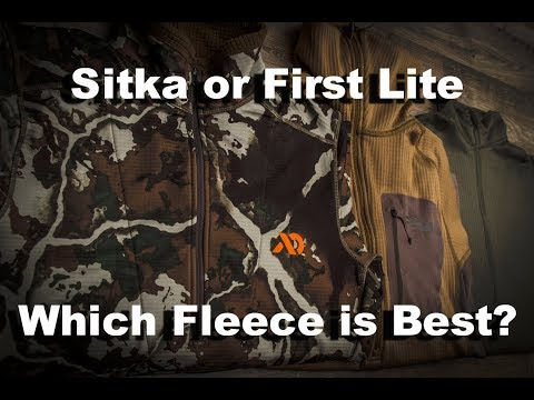 Fleece Shootout- First Lite Vs. Sitka (Plus A Budget Alternative!)