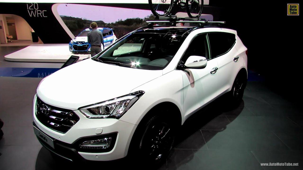 Hyundai Santa Fe 2015 >> 2013 Hyundai Santa Fe CRDi Premium Limited - Exterior/Interior Walkaround - 2012 Paris Auto Show ...