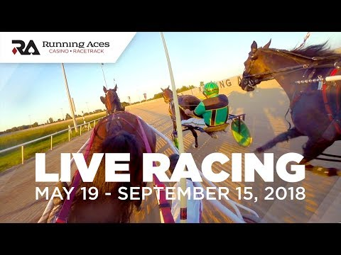 Live Harness Racing | Running Aces Casino & Racetrack