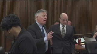 Angry outburst by prosecutors during Cleveland patrol officer Michael Brelo's trial