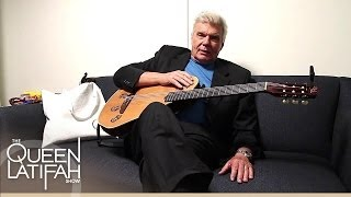 Backstage with John Davidson | The Queen Latifah Show