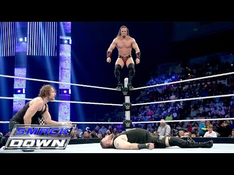 Dean Ambrose & Neville vs. Kevin Owens & Sheamus: SmackDown, January 14, 2016