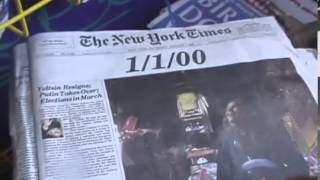 Rare historic New York Times front page 1 1 2000