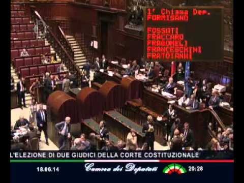 Roma parlamento in seduta comune youtube for Parlamento in seduta comune