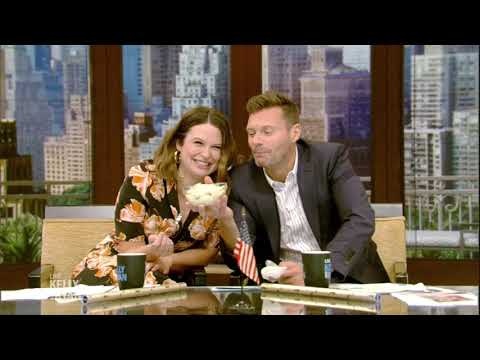 Ryan and Katie Lowes Try Mayonnaise Ice Cream