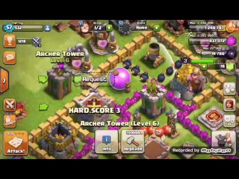 Clash of Clans ep.4   HATE KOKOMASTER111