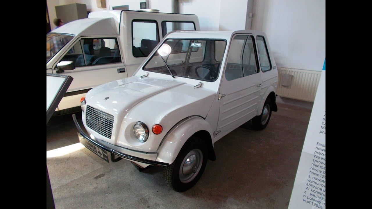 gacek 1968 polish concept car - youtube