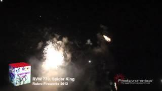 Spider King   Rubro Fireworks 2012