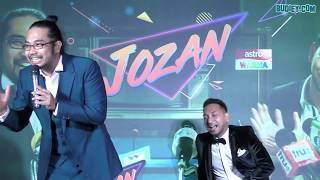 Video Lawak Johan & Zizan di Pelancaran JOZAN LIVE download MP3, 3GP, MP4, WEBM, AVI, FLV Oktober 2018