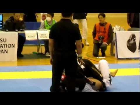 2013 Abu Dhabi Pro bjj Japan trial マルキーニョス・ソウザvs杉江大輔選手