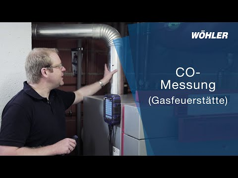 CO-Messung (Gas)