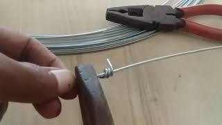 와이어 로프를 단단히 연결하는 방법 avi