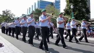 Fimmq 2013- Military Parade- The Army Band of Neubrandenburg,Germany