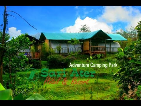 Camping Park Sari Ater Hotel Resort Recreation Youtube