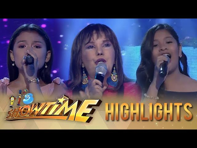 It's Showtime: Eva Eugenio, Lyca Gairanod, and Elha Nympha grace the It's Showtime stage