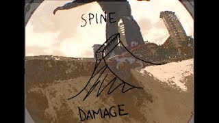 Spine Damage - Sants station, Barcelona
