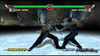 Mortal Kombat Deadly Alliance Konquest Part 1