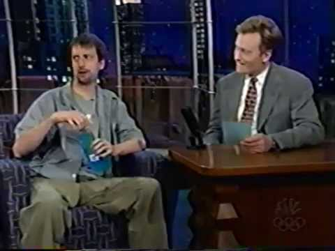 Tom Green on Late Night with Conan O'Brien (1999)