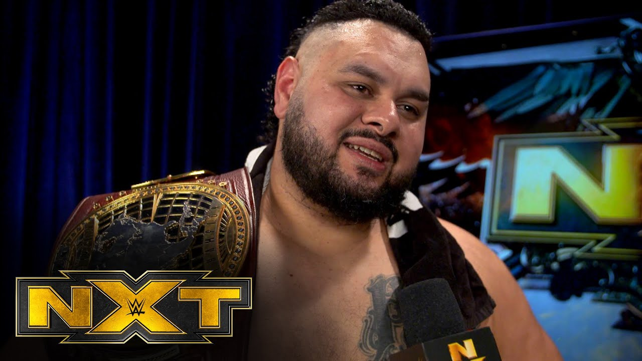 Bronson Reed Gave Emotional Speech To Fans After NXT Went Off The Air