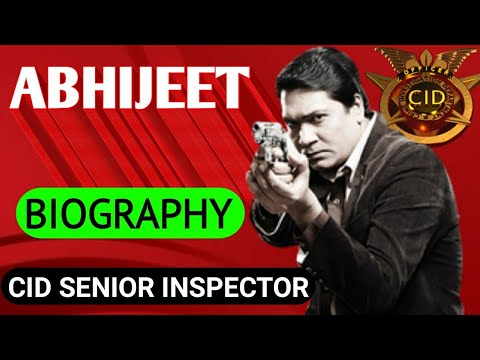 CID Abhijeet Biography || Aditya Srivastava