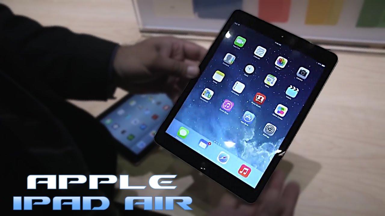 знакомство с ipad air 2
