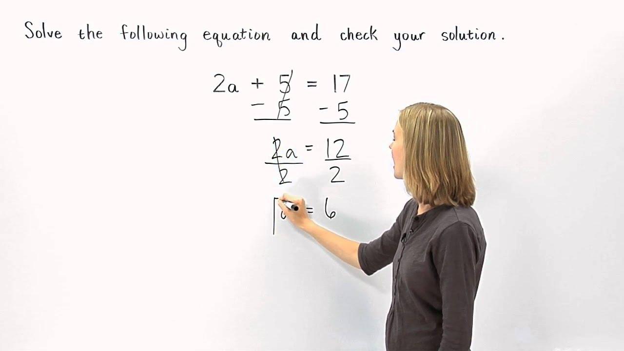 small resolution of 6th 7th 8th Grade Algebra   MathHelp.com - YouTube