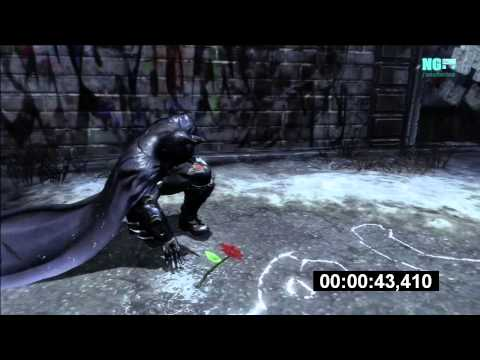 Batman Arkham City - Easter Eggs: Thomas y Martha Wayne