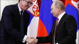 Визит Путина в Сербию: чего испугались на Западе?