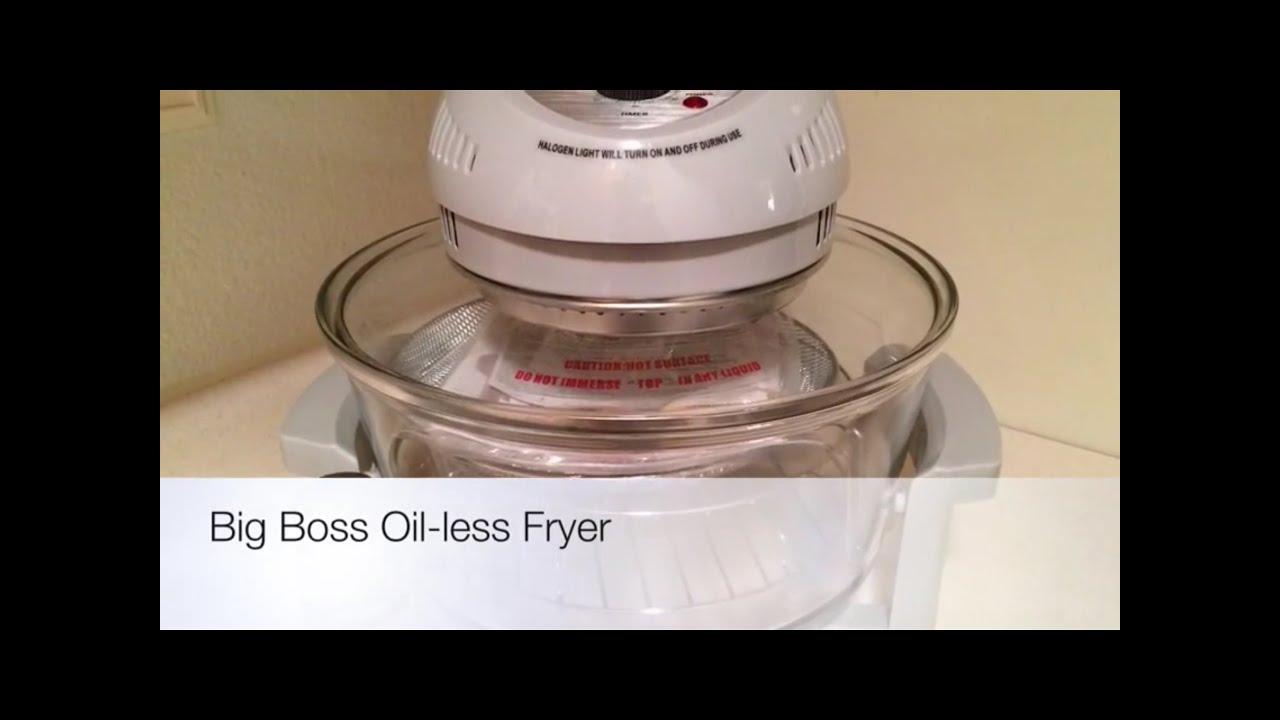 Big Boss Oil Less Fryer Light Bulb