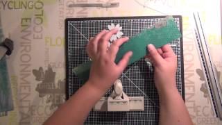 Tuto scrap - Livret cascade - part 1