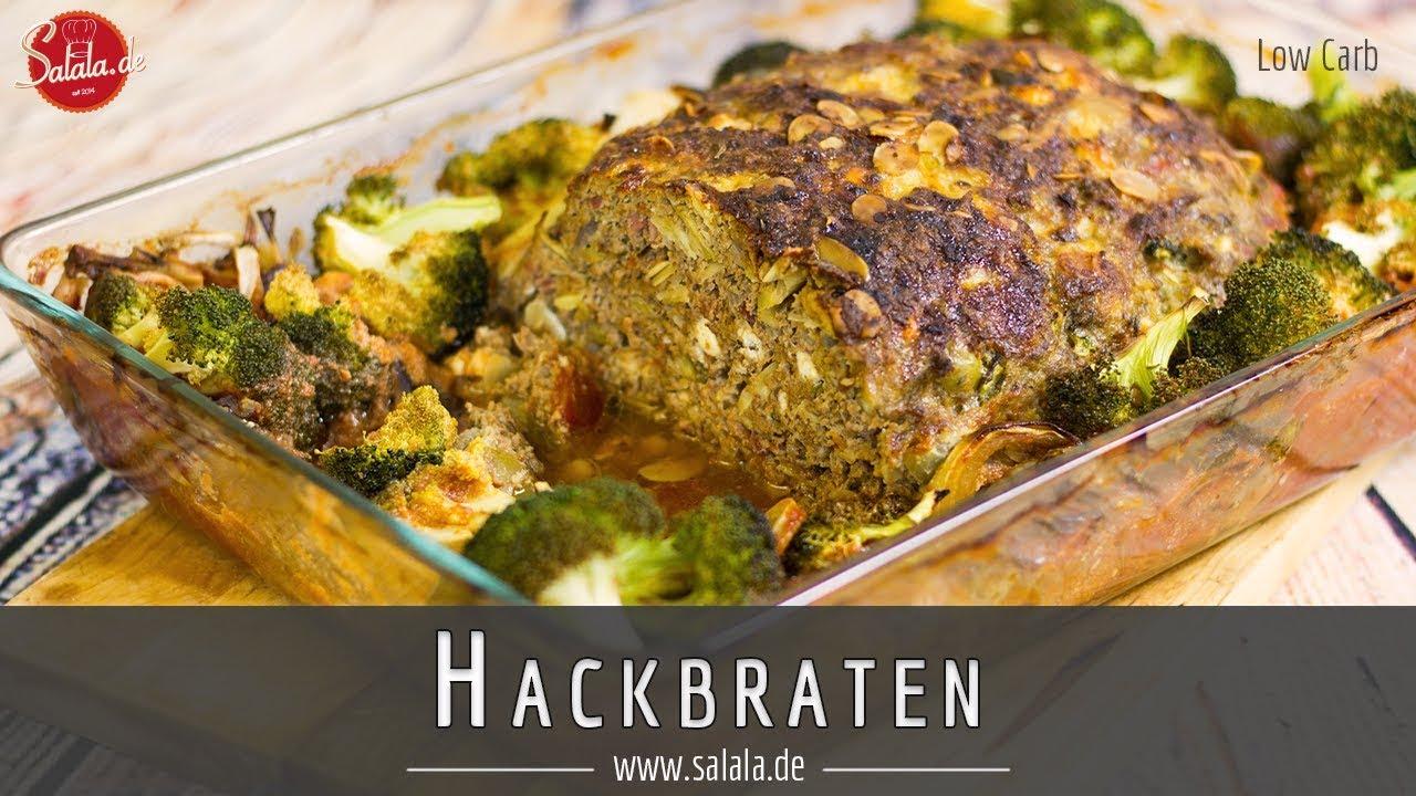Hackbraten Ohne Brot Low Carb Und Glutenfrei Salala De