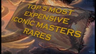 top 5 iconic masters rares